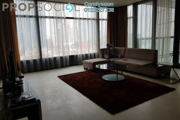 For Rent Condominium at The Troika, KLCC Freehold Fully Furnished 4R/4B 8k