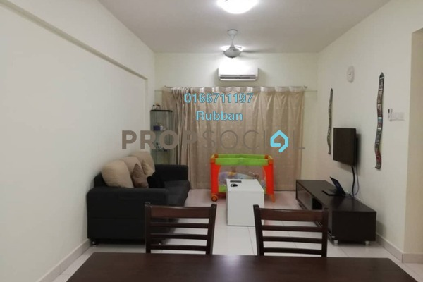 For Sale Condominium at Casa Tropika, Puchong Freehold Fully Furnished 3R/2B 400k