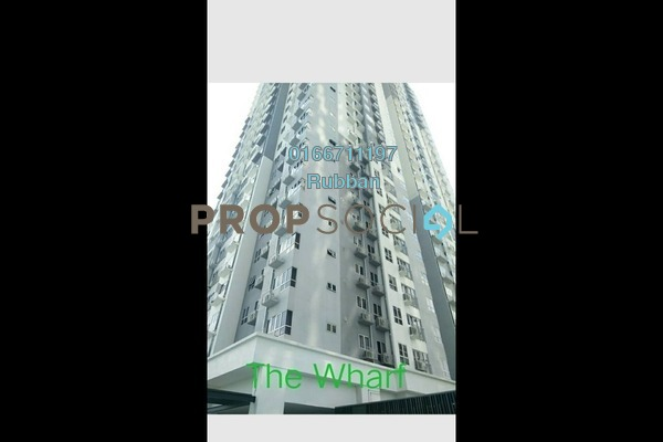 For Sale Condominium at The Wharf, Puchong Freehold Unfurnished 3R/2B 495k