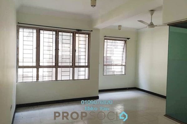For Rent Condominium at Ritze Perdana 1, Damansara Perdana Freehold Semi Furnished 1R/1B 1.1k