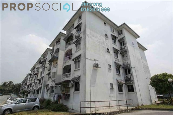 For Sale Apartment at Pandan Lake View, Pandan Perdana Freehold Unfurnished 3R/2B 300k