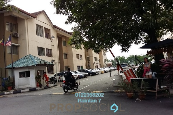 For Rent Apartment at Iris Apartment, Taman Desa Freehold Fully Furnished 2R/1B 1.2k