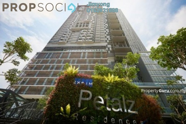 For Rent Condominium at The Petalz, Old Klang Road Freehold Semi Furnished 3R/2B 2.2k