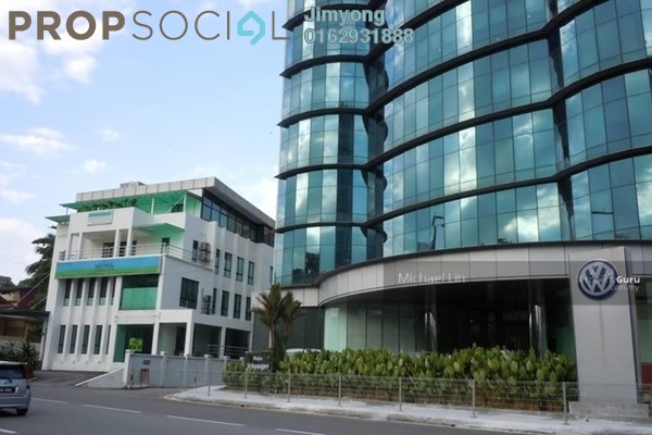 For Rent Office at Wisma Volkswagen, Bangsar Freehold Unfurnished 1R/2B 15.4k