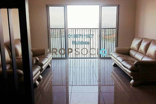 For Rent Condominium at The Wharf, Puchong Freehold Fully Furnished 3R/2B 1.45k