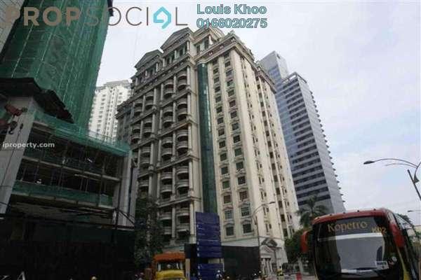For Sale Condominium at Corinthian, KLCC Freehold Semi Furnished 3R/2B 900k