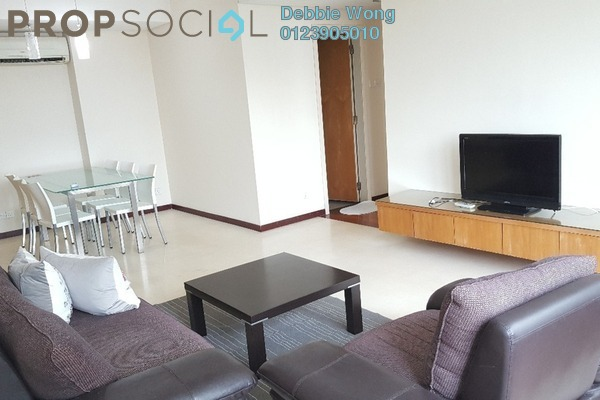 For Sale Condominium at i-Zen Kiara II, Mont Kiara Freehold Fully Furnished 2R/2B 750k