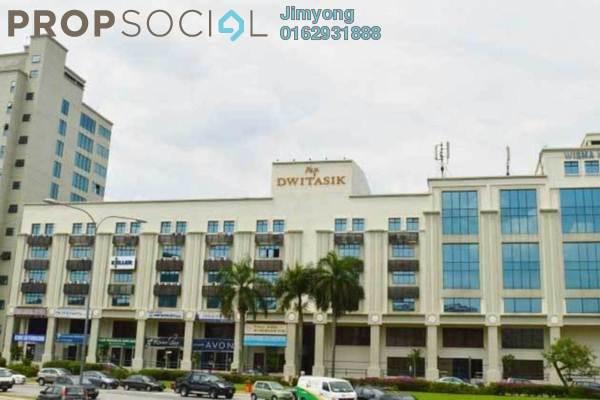 For Sale Office at Plaza Dwitasik, Bandar Sri Permaisuri Freehold Fully Furnished 1R/1B 1.7m