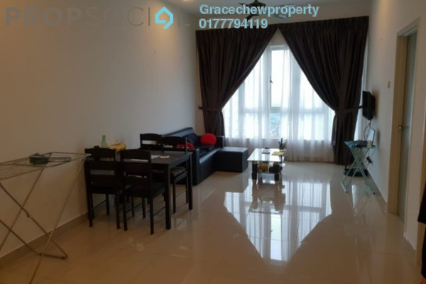 For Rent Serviced Residence at Tropez Residences, Danga Bay Freehold Fully Furnished 1R/1B 1.68k