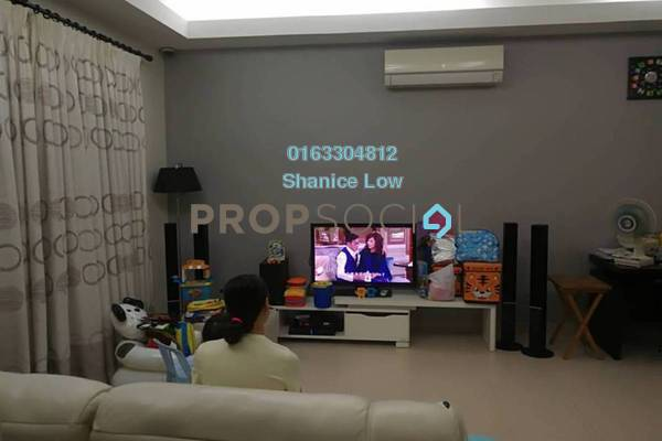 For Sale Terrace at Taman Puchong Prima, Puchong Freehold Semi Furnished 4R/3B 710k
