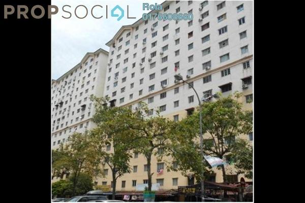 For Sale Apartment at Sri Rakyat Apartment, Bukit Jalil Leasehold Unfurnished 0R/0B 185k
