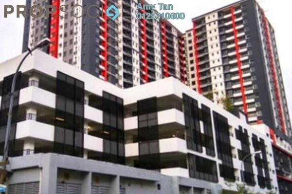 For Sale Serviced Residence at D'Aman Residences, Puchong Freehold Semi Furnished 0R/0B 350k