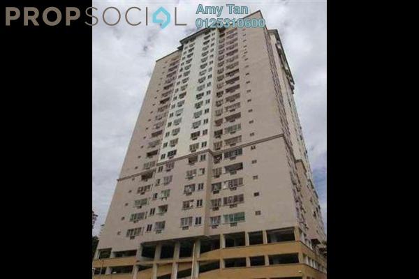 For Sale Condominium at Pelangi Indah, Jalan Ipoh Freehold Semi Furnished 0R/0B 381k