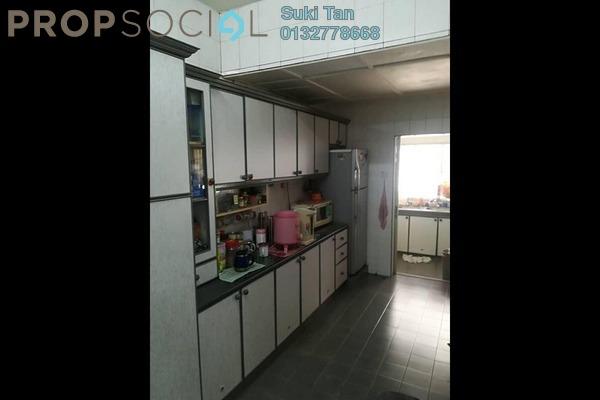 For Sale Terrace at Taman Mastiara, Jalan Ipoh Freehold Semi Furnished 4R/3B 830k