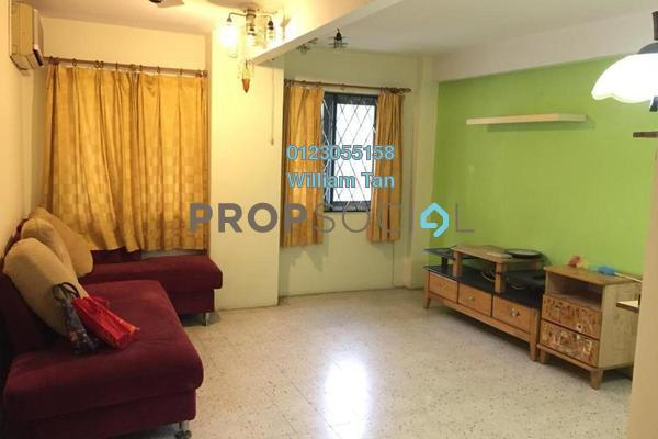 For Rent Apartment at Dahlia Apartment, Pandan Indah Freehold Fully Furnished 3R/2B 1.2k