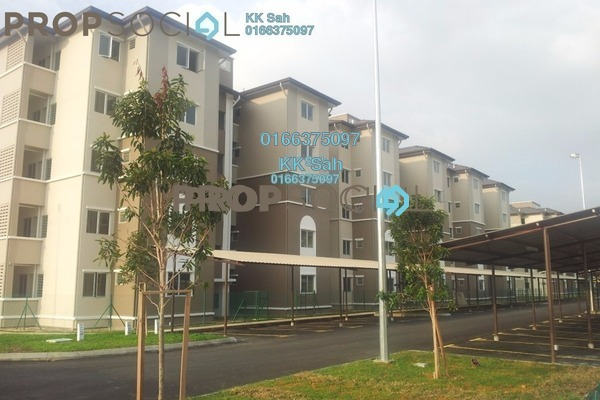 For Sale Apartment at Kasuarina Apartment, Klang Freehold Semi Furnished 3R/2B 267k