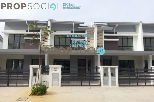 For Sale Terrace at M Residence 2, Rawang Freehold Unfurnished 4R/3B 468k