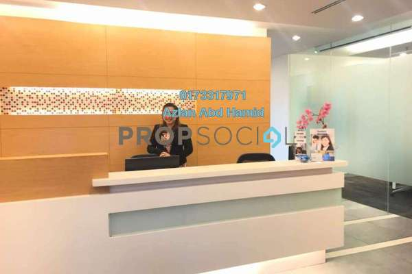 For Rent Office at Etiqa Twins, KLCC Freehold Fully Furnished 0R/0B 7.5k