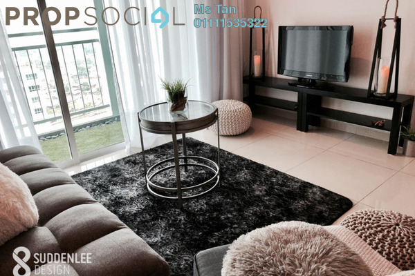 For Rent Condominium at Solaria Residences, Sungai Ara Freehold Fully Furnished 3R/2B 2k