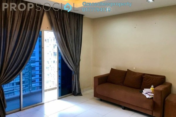 For Sale Apartment at M'Tiara Apartment, Johor Bahru Freehold Fully Furnished 3R/2B 320k