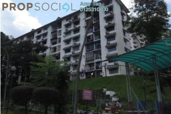 For Sale Apartment at Desa View Towers, Melawati Freehold Semi Furnished 0R/0B 219k