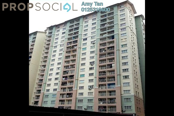 For Sale Apartment at Lakeview Apartment, Batu Caves Freehold Semi Furnished 0R/0B 197k