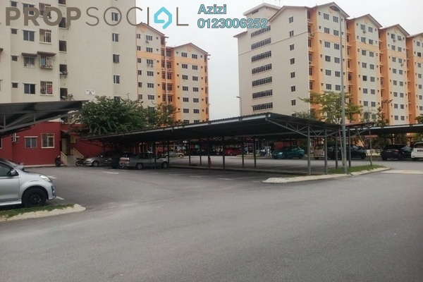 For Sale Apartment at Melor Apartment, Kajang Leasehold Unfurnished 3R/2B 240k