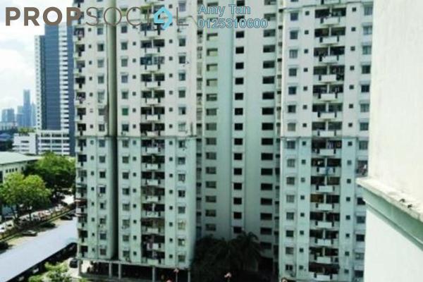 For Sale Apartment at Menara Orkid, Sentul Freehold Semi Furnished 0R/0B 270k