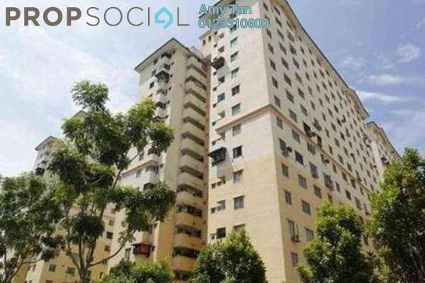 For Sale Apartment at Sri Rakyat Apartment, Bukit Jalil Freehold Semi Furnished 0R/0B 185k
