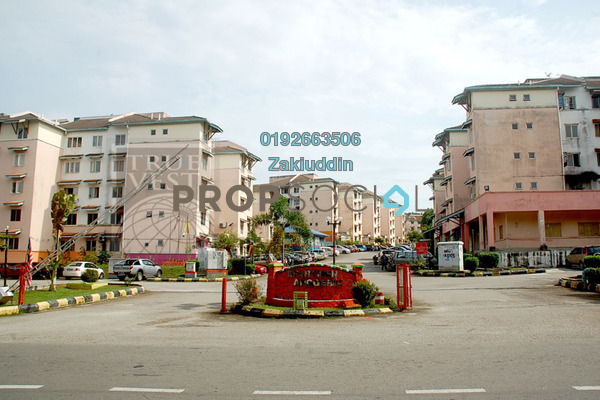 For Sale Apartment at Anggerik Apartment, Bukit Beruntung Leasehold Unfurnished 3R/2B 85k