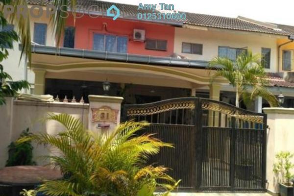For Sale Terrace at Taman Keruing, Selangor Freehold Semi Furnished 0R/0B 185k
