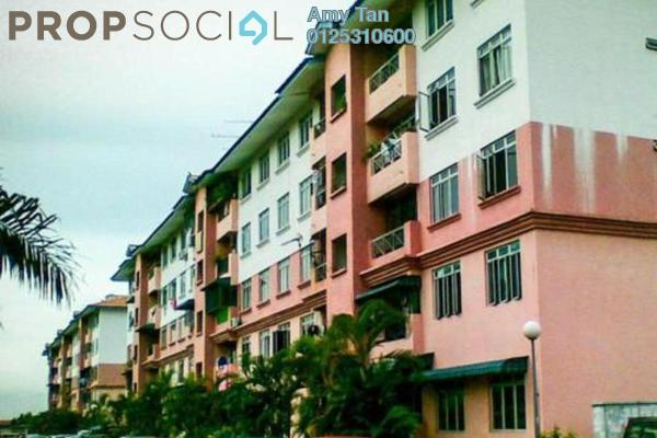 For Sale Apartment at Taman Meru Permai, Meru Freehold Semi Furnished 0R/0B 140k