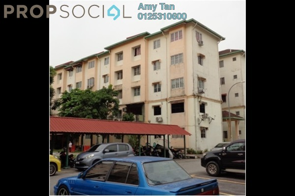 For Sale Apartment at Taman Subang Intan, Subang Freehold Semi Furnished 0R/0B 200k
