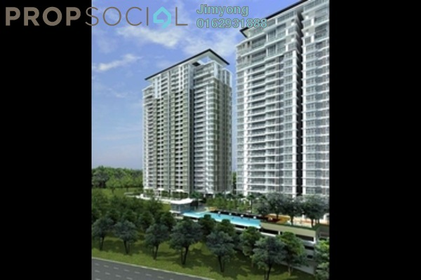 For Rent Condominium at The Park Residences, Bangsar South Freehold Fully Furnished 4R/3B 6.5k