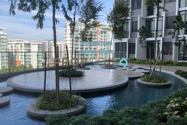 For Rent Condominium at H2O Residences, Ara Damansara Freehold Semi Furnished 1R/1B 1.2k