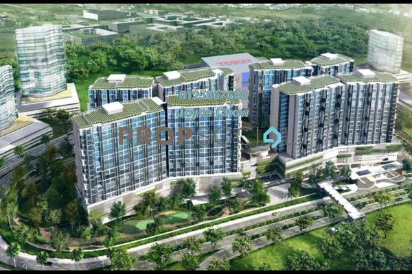 For Rent Condominium at H2O Residences, Ara Damansara Freehold Semi Furnished 1R/1B 1.3k