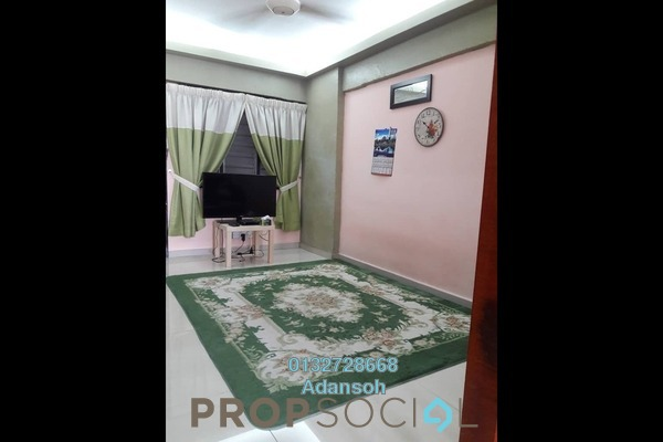 For Sale Apartment at Mutiara Fadason, Jinjang Freehold Semi Furnished 3R/2B 145k