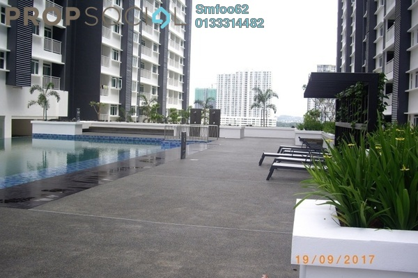 For Sale Condominium at V-Residensi 2, Shah Alam Freehold Semi Furnished 3R/3B 530k