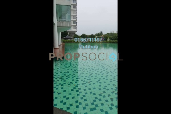 For Sale Condominium at Zen Residence, Puchong Freehold Semi Furnished 3R/2B 535k