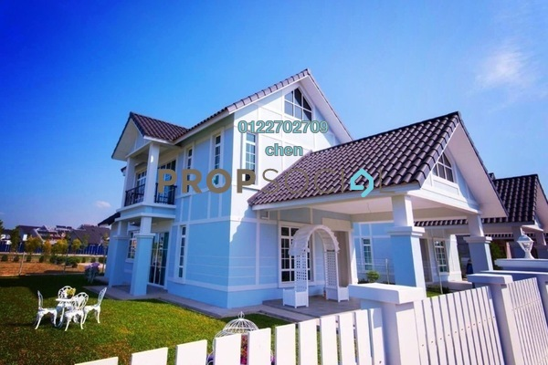 For Sale Bungalow at Melaka International Trade Centre, Ayer Keroh Leasehold Unfurnished 4R/3B 581k
