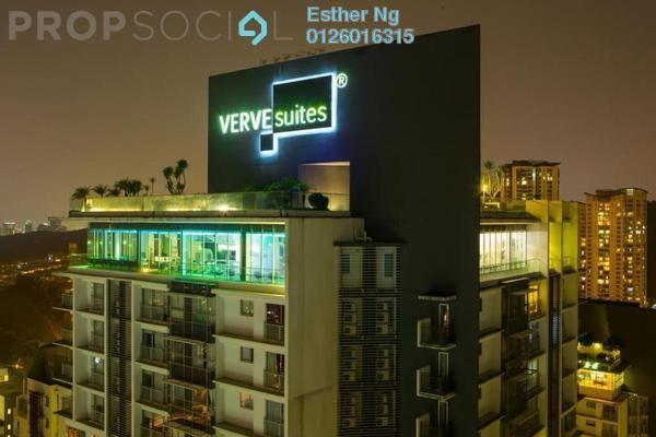 For Sale Serviced Residence at VERVE Suites, Mont Kiara Freehold Fully Furnished 1R/1B 603k