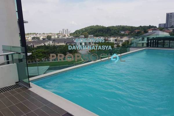 For Sale Condominium at Lake Vista Residence, Bandar Tun Hussein Onn Freehold Unfurnished 3R/2B 580k