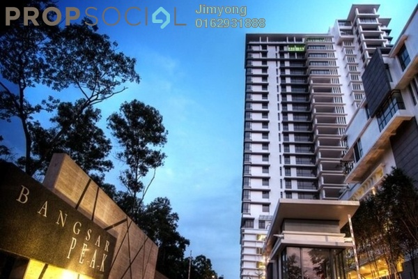 For Sale Condominium at Bangsar Peak, Bangsar Freehold Semi Furnished 4R/4B 2.95m