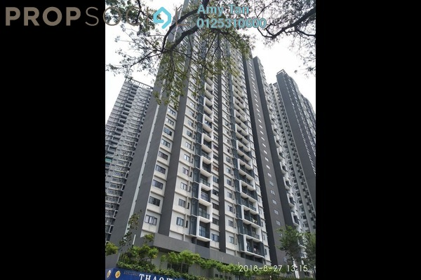 For Sale Serviced Residence at Seasons Garden Residences, Wangsa Maju Freehold Semi Furnished 0R/0B 405k
