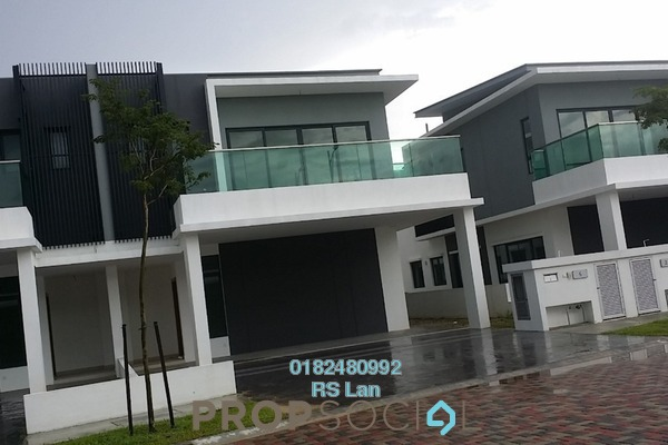 For Sale Semi-Detached at Corallia @ D'Island, Puchong Freehold Unfurnished 5R/6B 1.59m