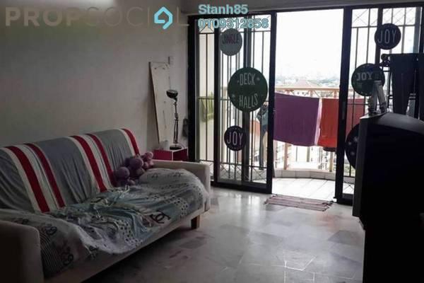 For Rent Condominium at Sri Pelangi, Setapak Freehold Semi Furnished 3R/2B 1.05k