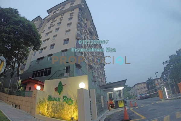 For Sale Apartment at Hijau Ria, Kepong Leasehold Semi Furnished 3R/2B 390k