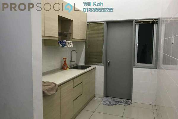 For Rent Serviced Residence at Silk Residence, Bandar Tun Hussein Onn Freehold Semi Furnished 3R/2B 1.3k