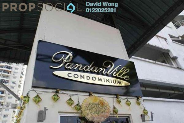 For Rent Condominium at Pandan Villa, Pandan Indah Freehold Unfurnished 3R/2B 1.55k