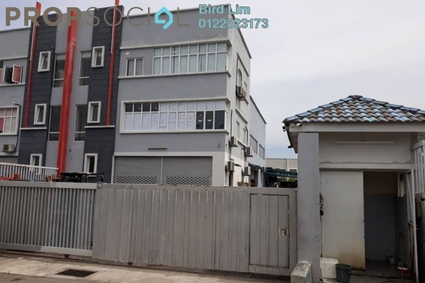 For Rent Terrace at Taming Jaya Industrial Park, Balakong Freehold Unfurnished 1R/6B 7.5k